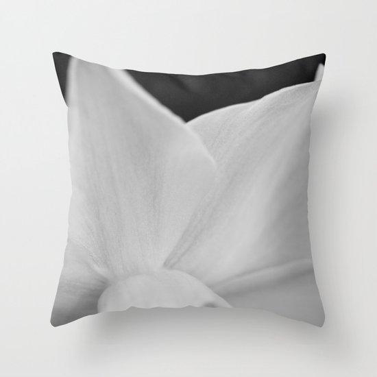 Unveiled Throw Pillow