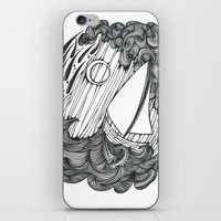 Leviathan and Lonely iPhone & iPod Skin