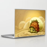turtle Laptop & iPad Skins featuring turtle by Antracit