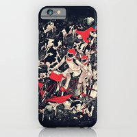 iPhone & iPod Case featuring Space Dairy Farming by SPYKEEE