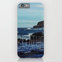 iPhone & iPod Case featuring Breathe by Leah Flores