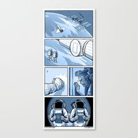 No Escape Canvas Print