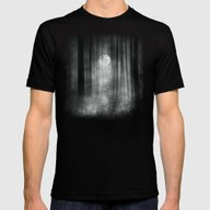 Dark Mens Fitted Tee Black SMALL