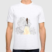 Shuttle Launch Mens Fitted Tee Ash Grey SMALL