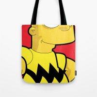 Bart Brown Tote Bag