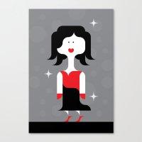 Diva Prima Donna Canvas Print
