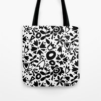 Graphic Garden Tote Bag