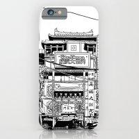 iPhone & iPod Case featuring Yokohama - China town by parisian samurai studio