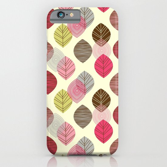 Linear leaves iPhone & iPod Case