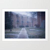 Freeze Frame Art Print