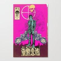 THE MAN FROM OSAKA Canvas Print