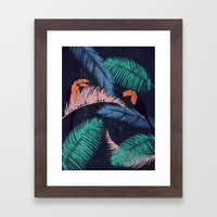 Palms in the Sand | Animals Framed Art Print