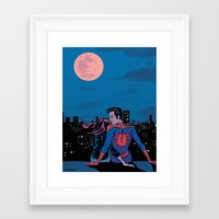 Pete and MJ Framed Art Print
