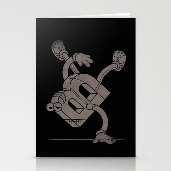 B-Boy Stationery Card