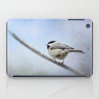 Chickadee In The Snow iPad Case