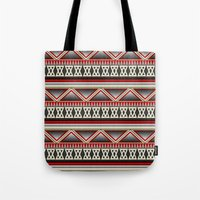 Dark Romance Tribal Tote Bag