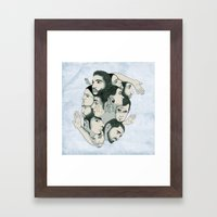 Rotoscopy Framed Art Print