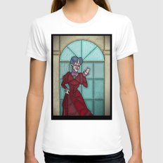 What a wicked step mother Womens Fitted Tee White SMALL