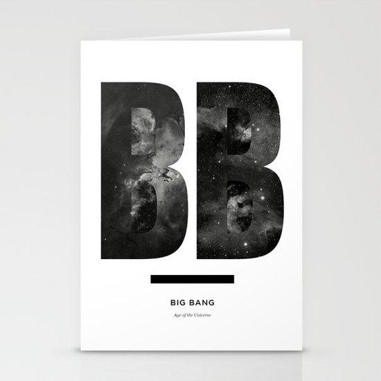 BIG BANG Stationery Card