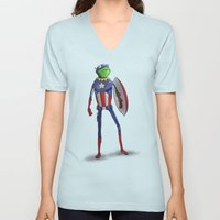 Captain Kermit Unisex V-Neck