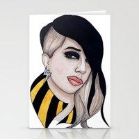 Ashley Dzerigian is TRESPASSER Stationery Cards