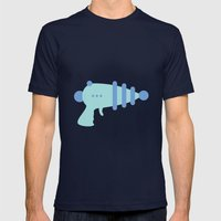 #39 Raygun Mens Fitted Tee Navy SMALL