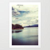 Instagram Holston, TN Art Print
