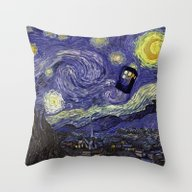 Doctor Who 010 Throw Pillow
