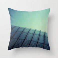 Opera House Polaroid Throw Pillow