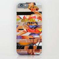 Glitch Pin-Up: Gwen iPhone 6 Slim Case