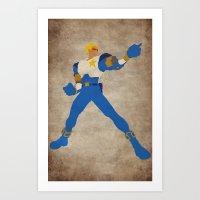 Commanding Captain (Capt… Art Print