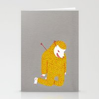 Everything Is My Fault Stationery Cards