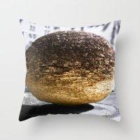 Modern Relic In Ruin Throw Pillow