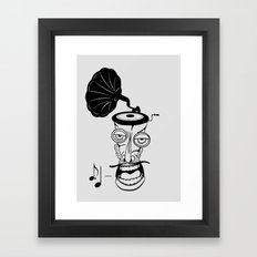 Music In My Head Framed Art Print