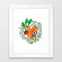 Eye keepers Framed Art Print