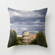 The Roman Colosseum  Throw Pillow