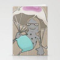 Rainstorm-nostalgia Stationery Cards