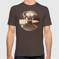 TZAAAR! Mens Fitted Tee Brown SMALL