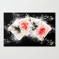 Play Your ACE Canvas Print