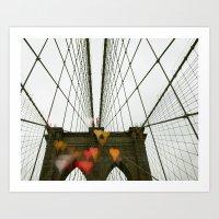 Brooklyn My Love Art Print