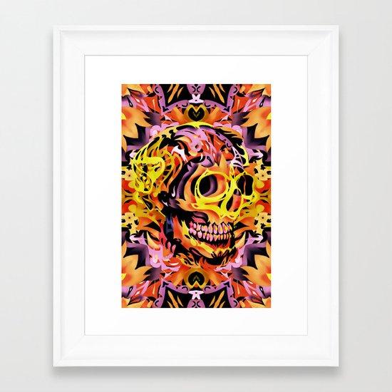 Skull V Framed Art Print