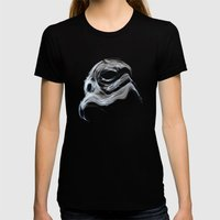 Smoky Trooper Womens Fitted Tee Black SMALL