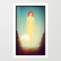 Honey-moon Art Print