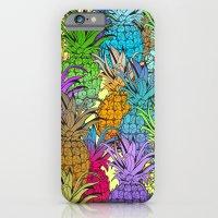 Pineapple Parade iPhone 6 Slim Case