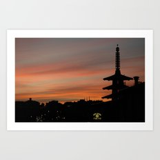 japantown Art Print