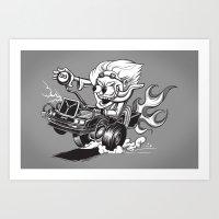 Doc Fink Art Print