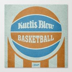 7 inch series: Kurtis Blow - Basketball Canvas Print