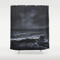 Shower Curtain featuring I´m Fading by HappyMelvin