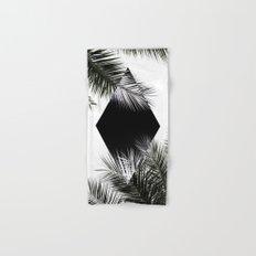 Palm Leaves 3 Geometry Hand & Bath Towel