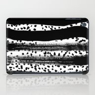 Iver - Black And White M… iPad Case